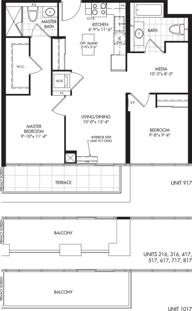 2D-A1 Floorplan 1
