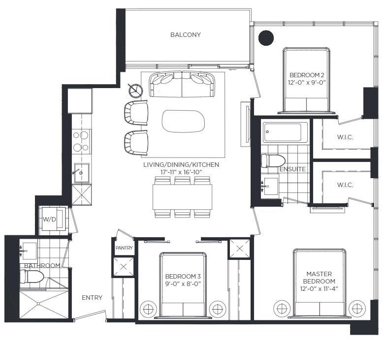 Kensington Park Floorplan 1