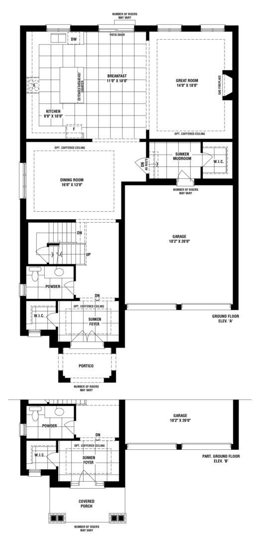 Deer Creek Floorplan 1