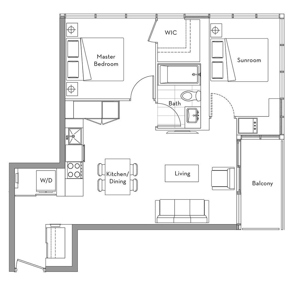 The 360 Collection - 010 Floorplan 1