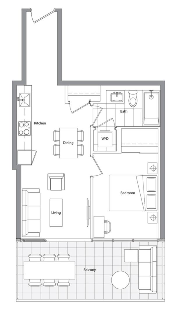 Lower Typical (East Tower) 08 Floorplan 1