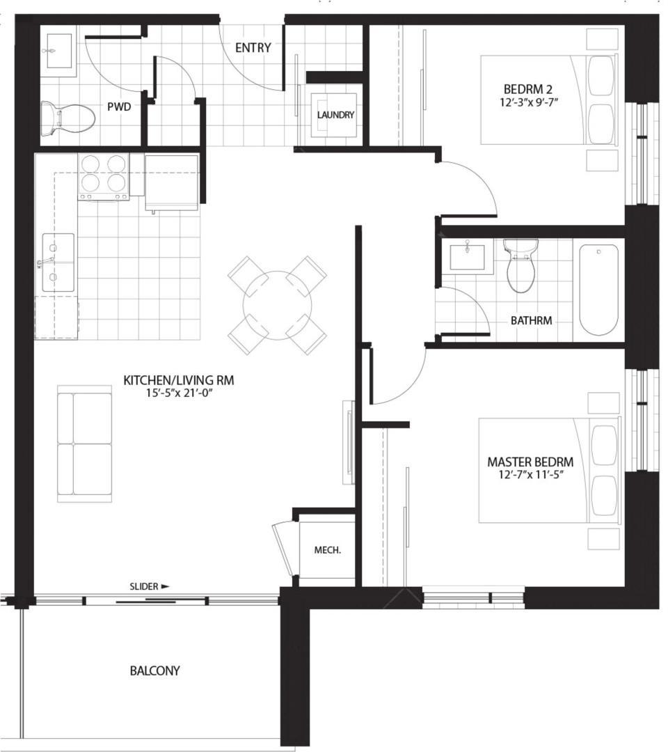 Downing Floorplan 1