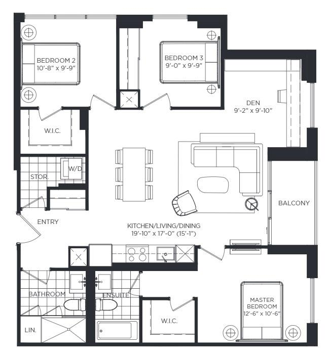 Oxford Gardens Floorplan 1