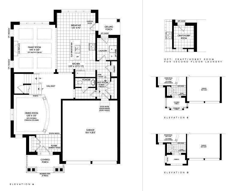 Drake Floorplan 1