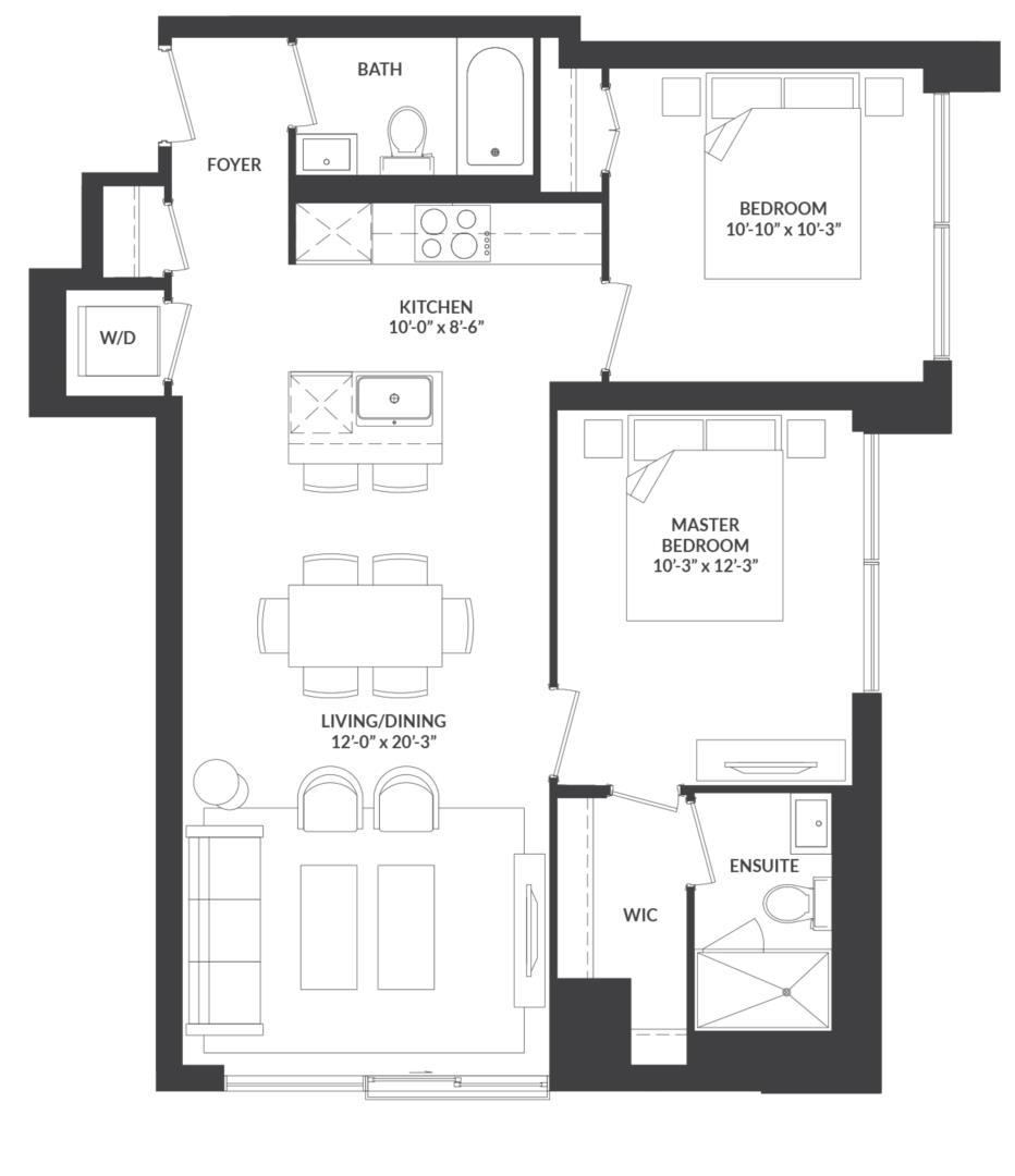 Suite 08 Floorplan 1