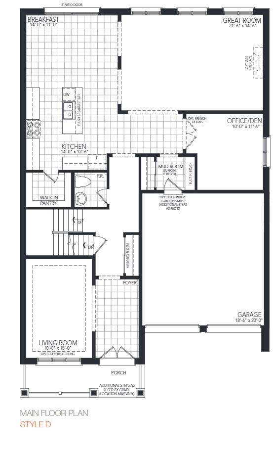 The Gloucester Floorplan 1