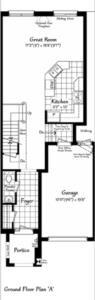 The Belevedere 4 Floorplan 1