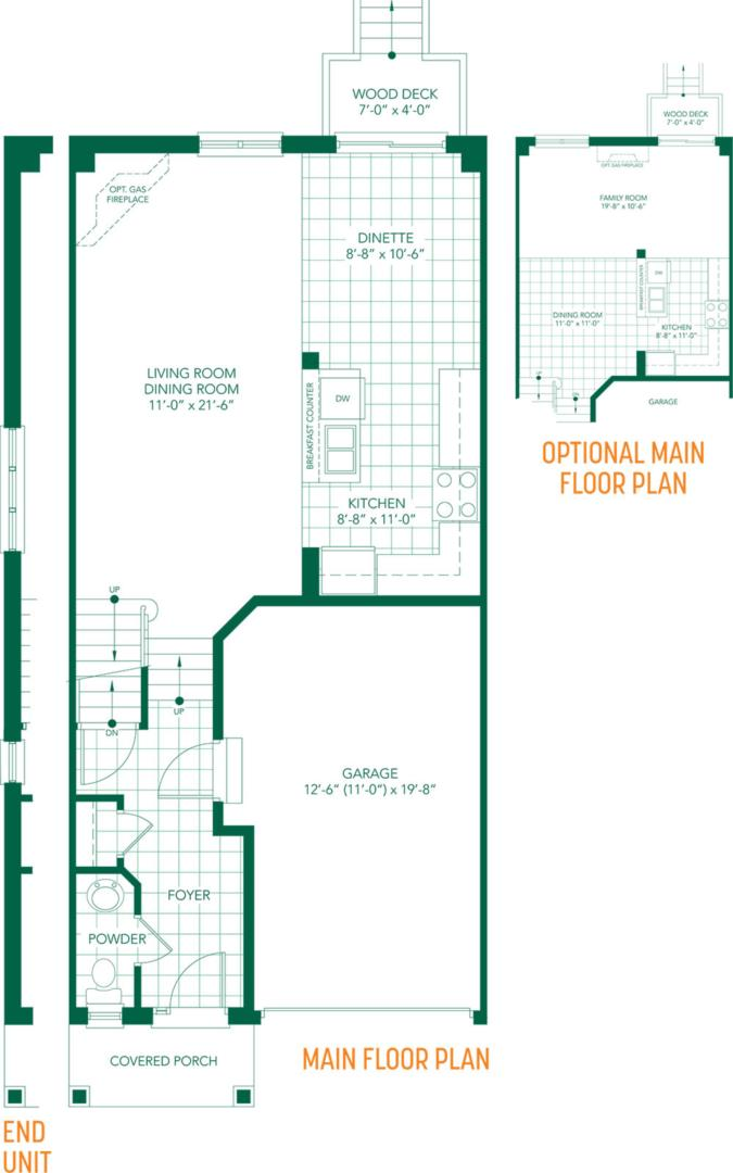 The Parkview Floorplan 1