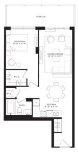 The Mercer Floorplan 1