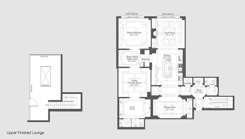 Cantley - PH9 Floorplan 1