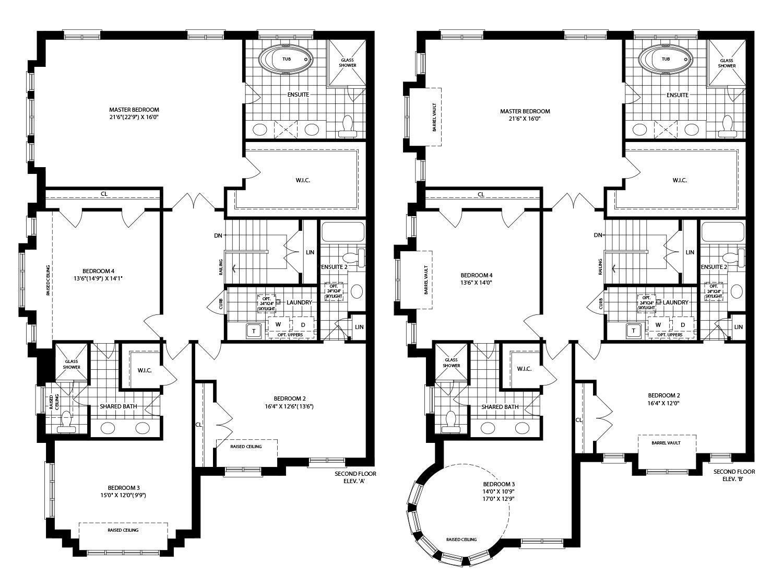 Thompson (A) Floorplan 2