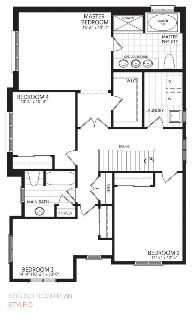 The Vibrant Corner Floorplan 2
