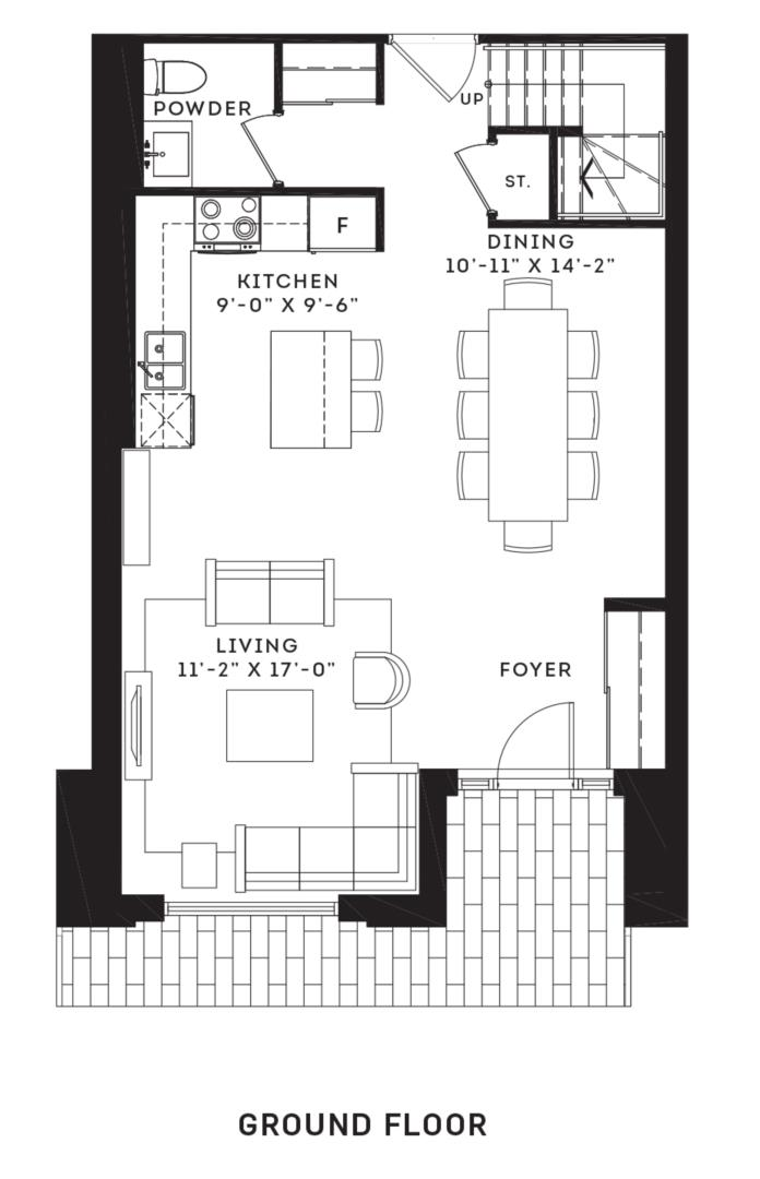The Brentcliff Floorplan 1