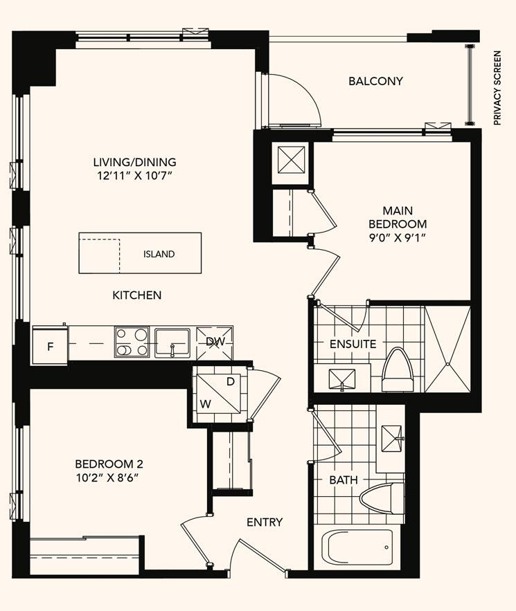 The Judith Floorplan 1