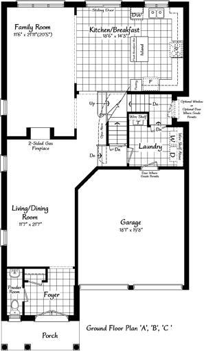 The Windermere 25 Floorplan 1