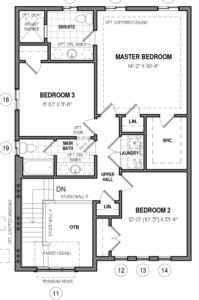 The Oxford 34 IV A Floorplan 2