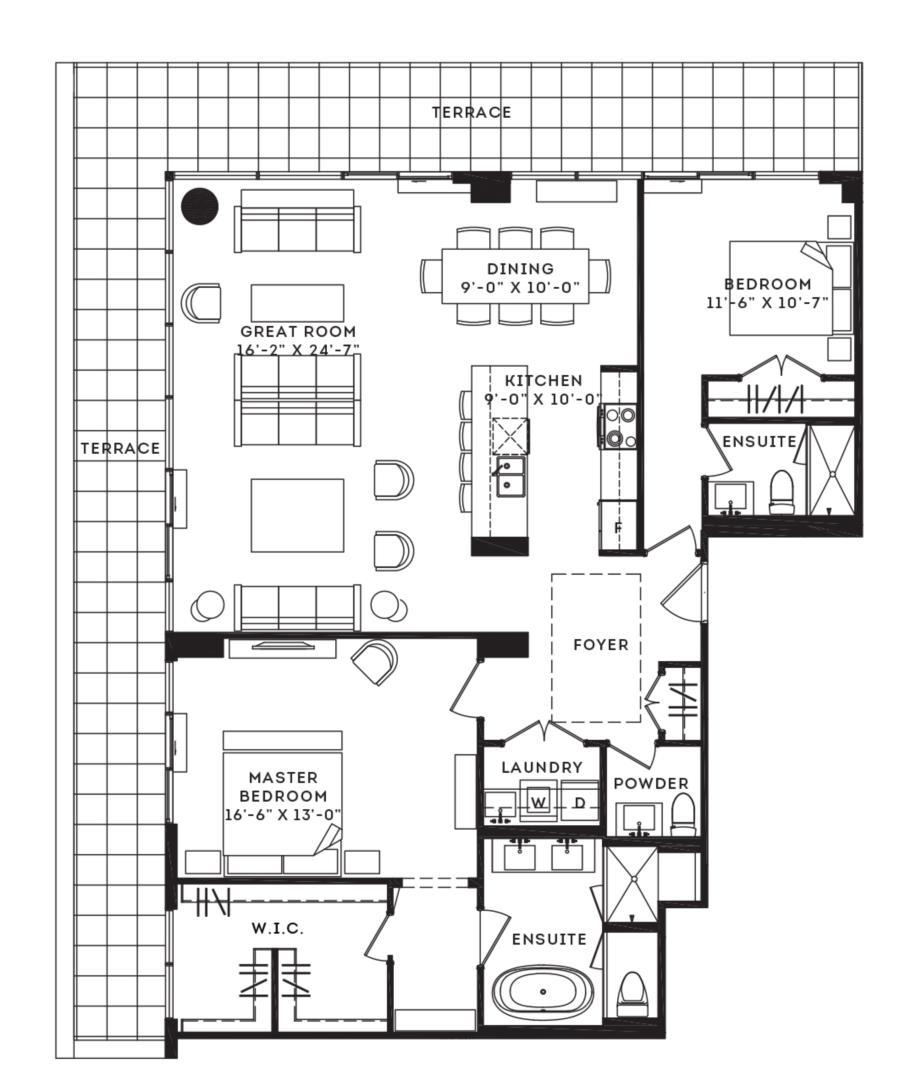 The Lexington Floorplan 1