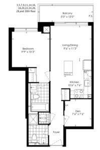 1C+D Floorplan 1