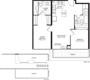 2-B1 (BF) Floorplan 1