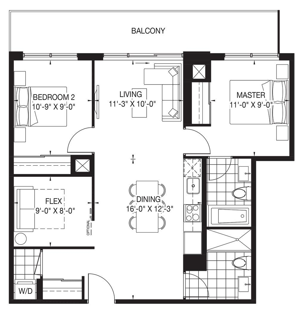 The Oasis Collection - Lace Floorplan 1