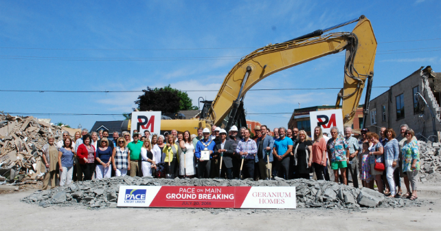 PACE on Main in Stouffville is now officially under construction! Image