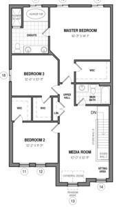 The Rockwell 34 IV B Floorplan 2