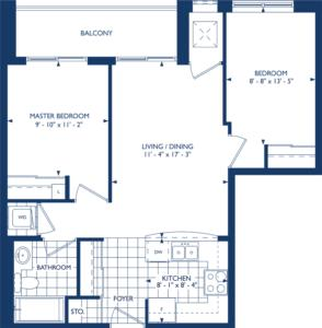 The Newcastle Floorplan 1