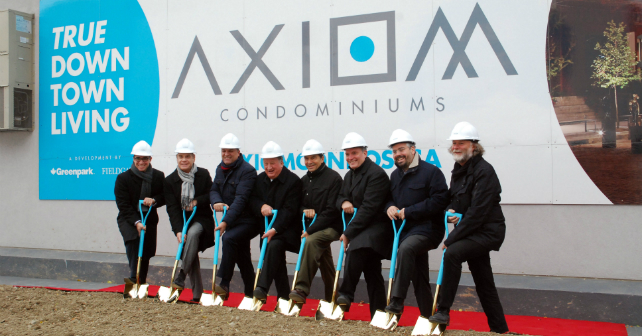 Fieldgate and Greenpark Celebrate Groundbreaking at AXIOM in Toronto Image
