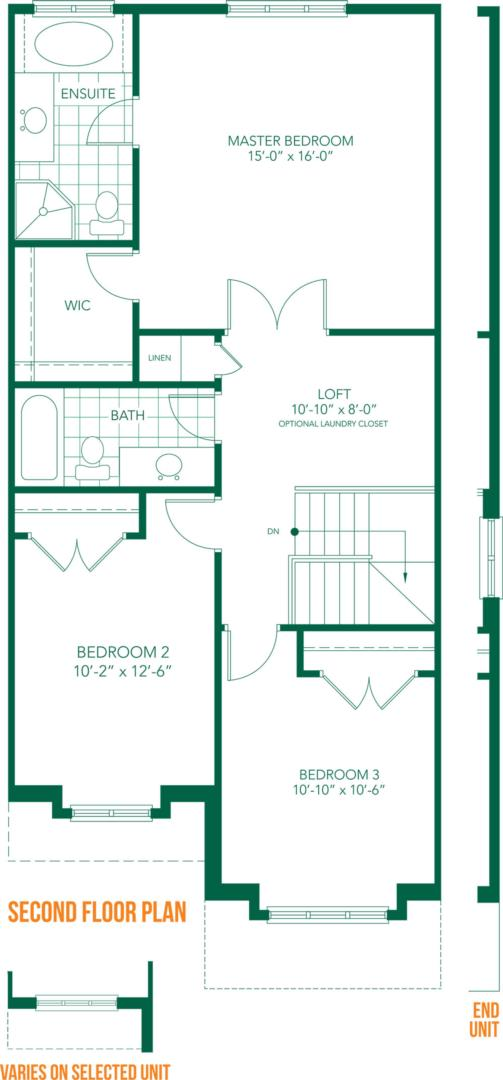 The Villa Floorplan 2