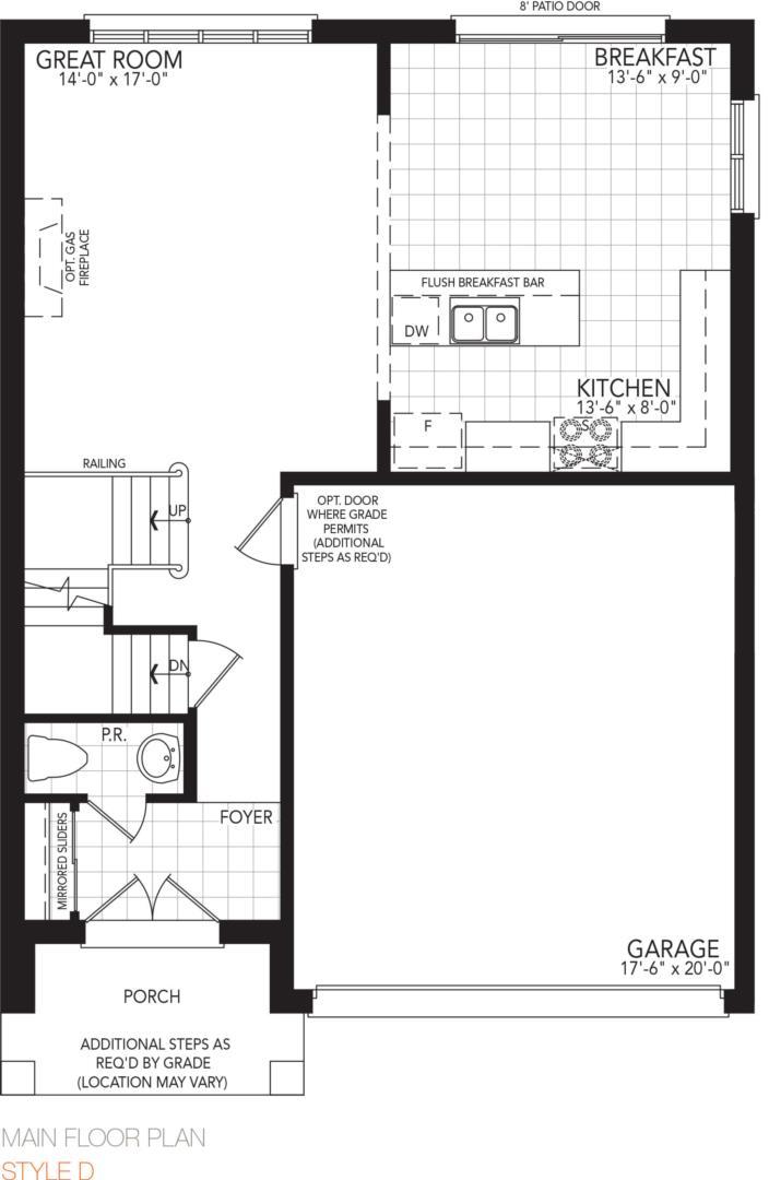 The Zest Floorplan 1