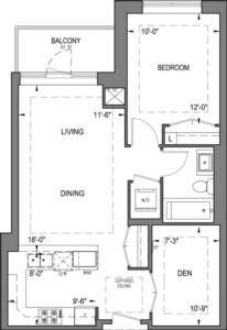 Building B - Typical Suites - 1Z+D