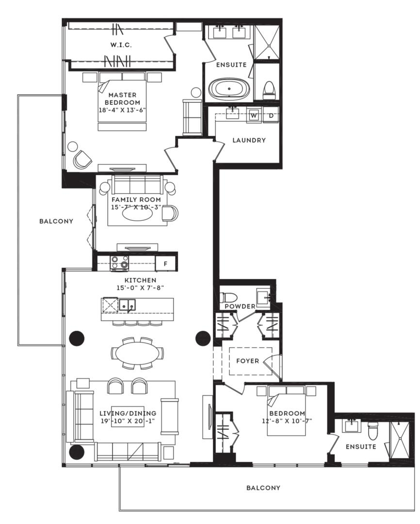 The Essex Floorplan 1