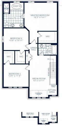 The Rockwell B Floorplan 2