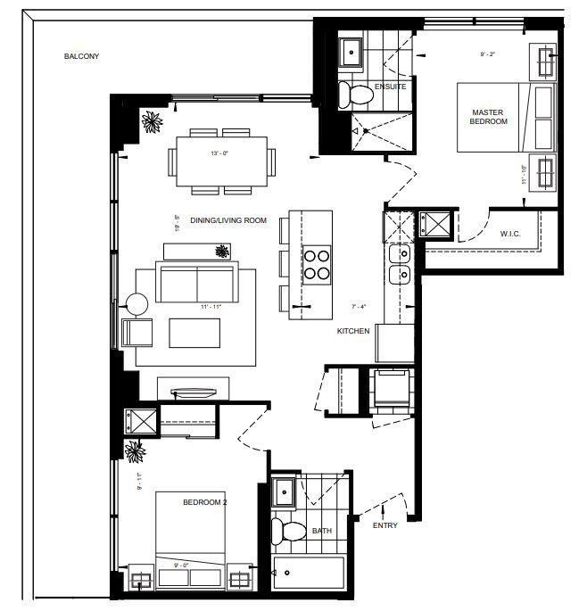 2B-C Floorplan 1