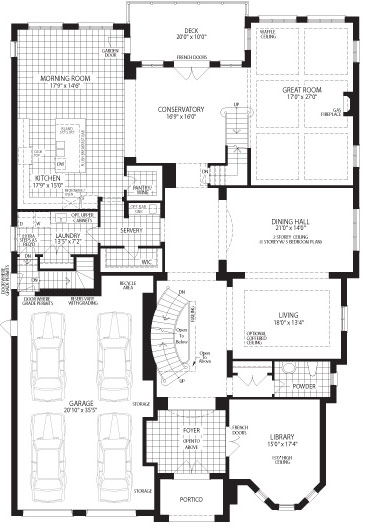 The Magnolia Floorplan 1