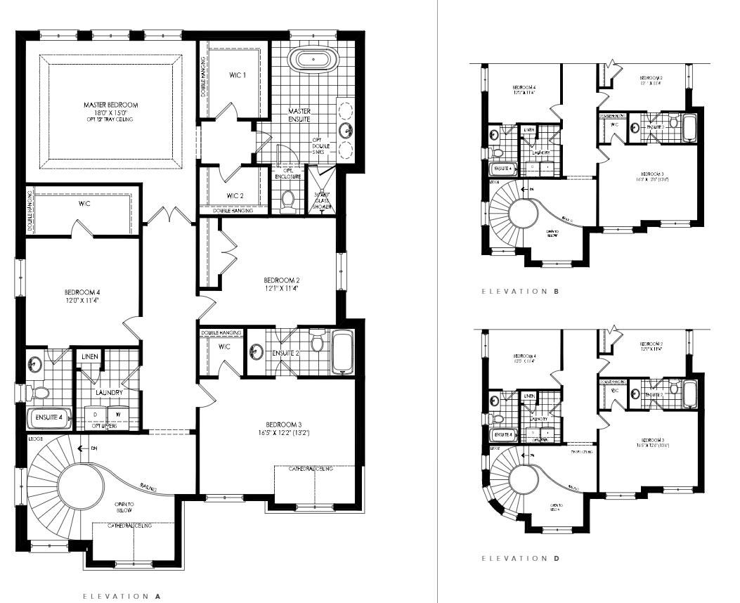 Lot 60 - Summerfield D Floorplan 2