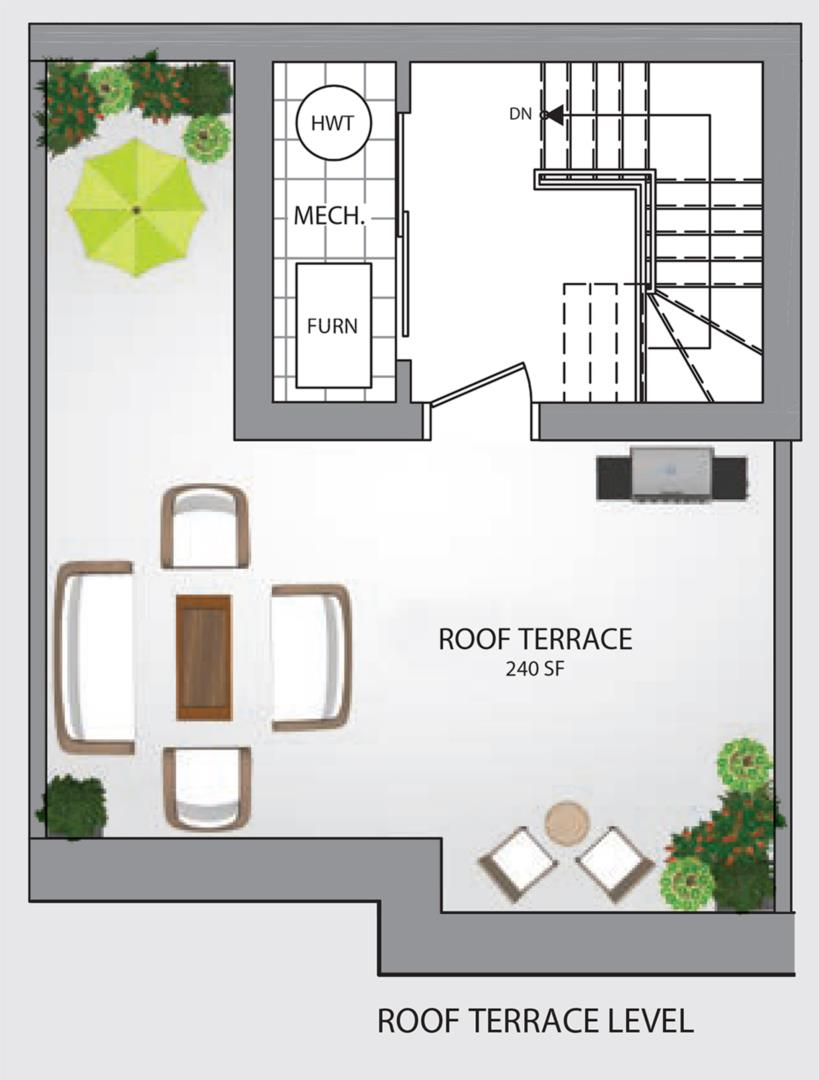 B-Series-B2 Optional Floorplan 3
