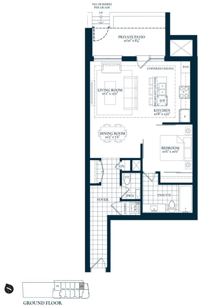 Trafalgar Floorplan 1