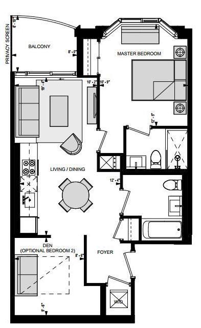 Suite AB Floorplan 1