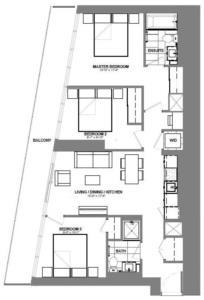 3-C Floorplan 1