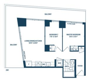 Newport R Floorplan 1