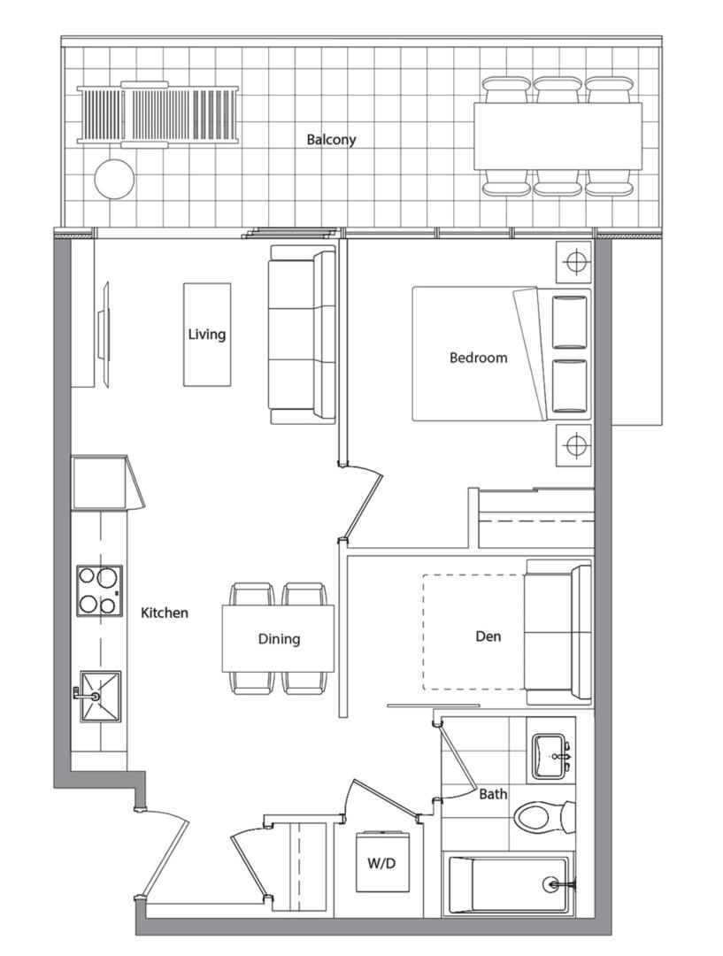 Podium 502 Floorplan 1