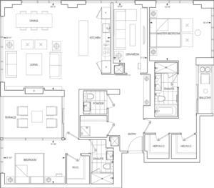Vantage Floorplan 1
