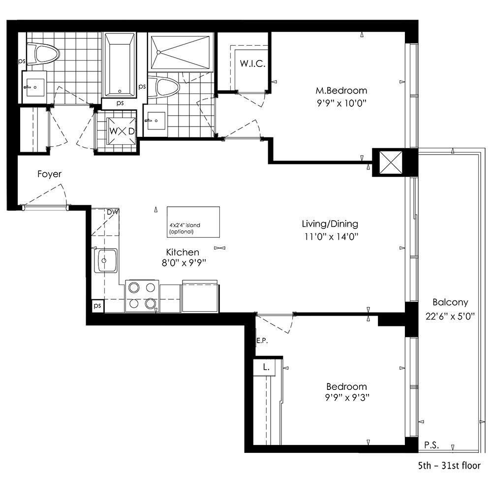 2B Floorplan 1