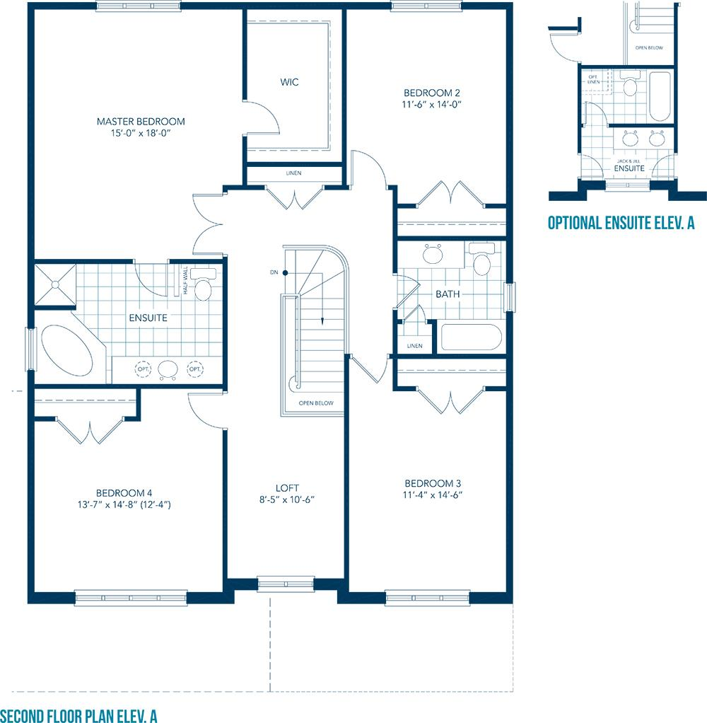 Forestbrook Floorplan 1