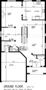 The Rosewood Floorplan 1