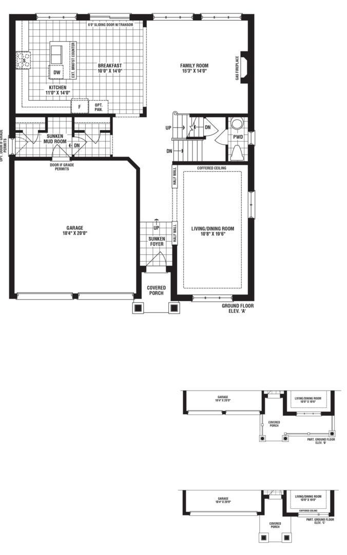 Glimmering Floorplan 1