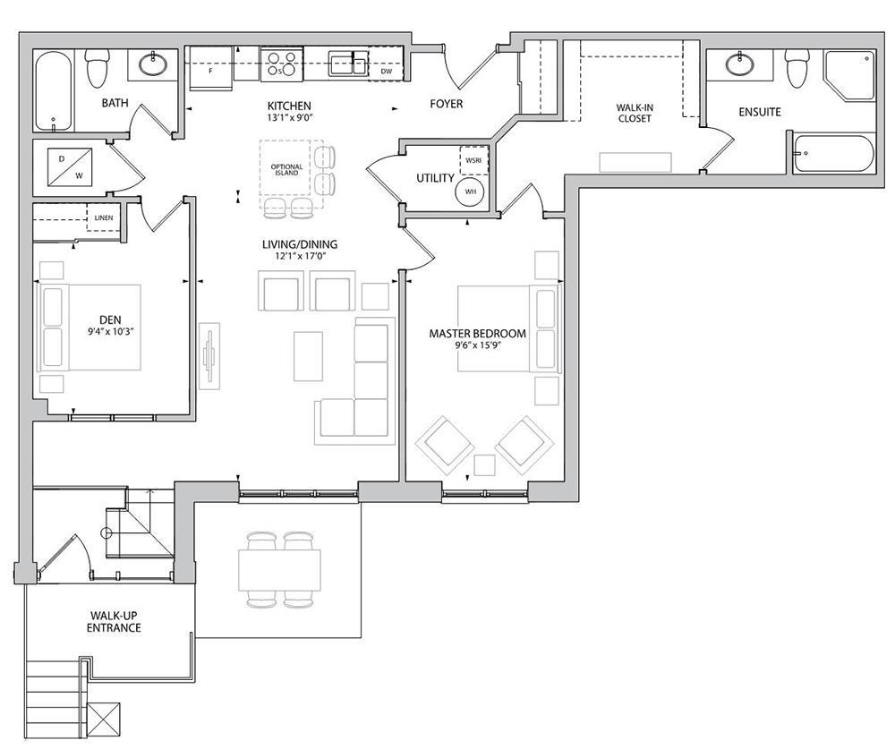 The Dovedale Floorplan 1