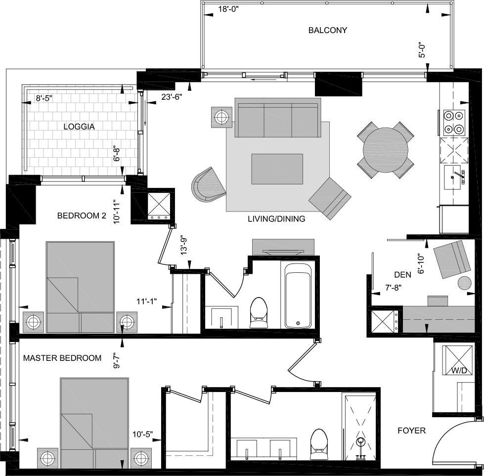 LNW-W Floorplan 1