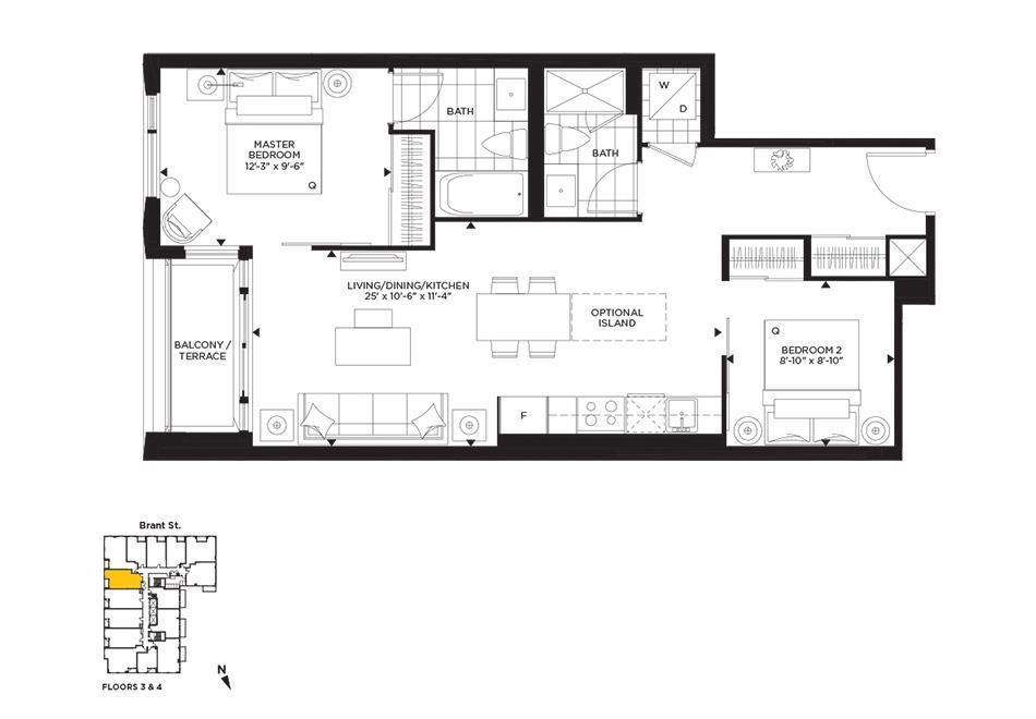 Noveau Floorplan 1